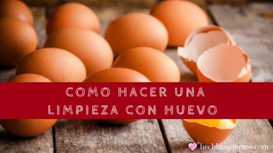 significado de limpieza con huevo