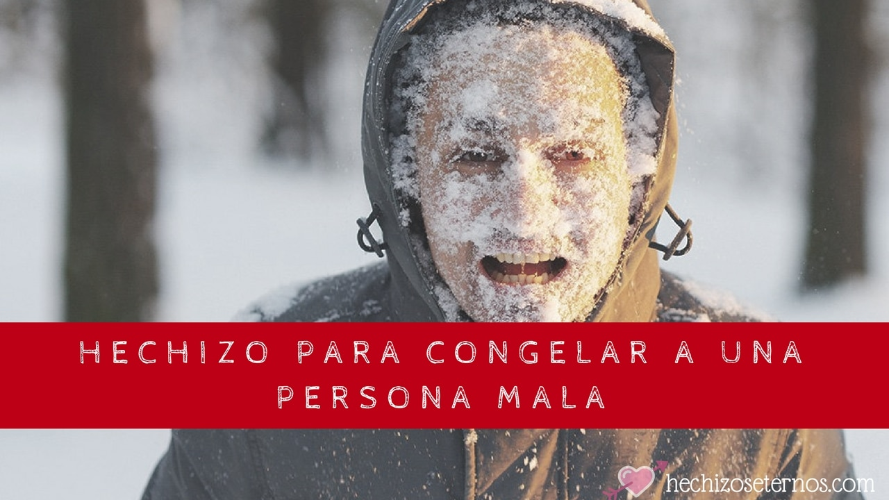 congelar una persona