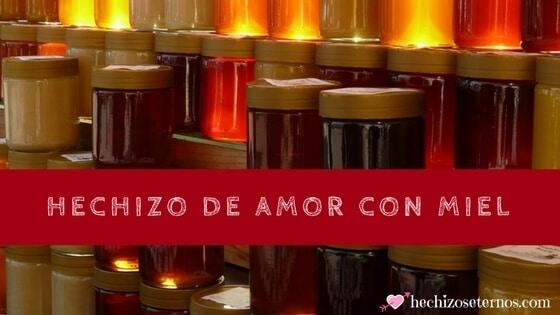 ritual de amor con miel y orina