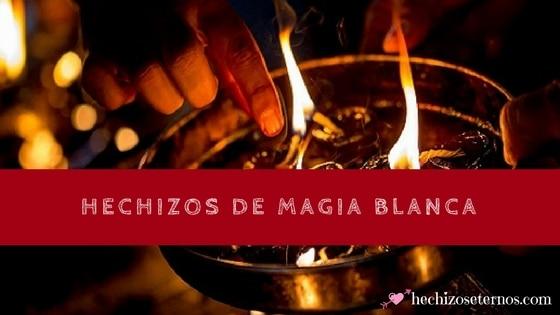 Conjuros de magia blanca